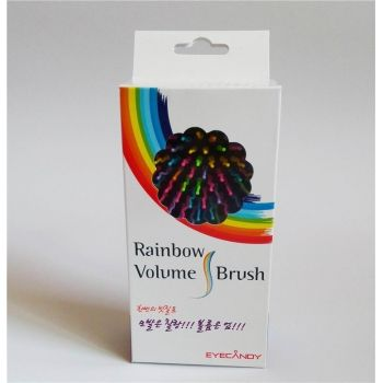 Расчёска EYECANDY Rainbow Volume S Brush оптом