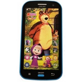 Детский интерактивный телефон Маша и Медведь оптом