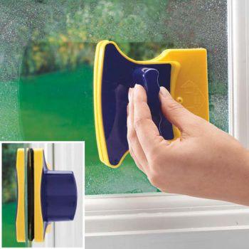 Магнитная щётка для мытья окон с 2-х сторон оптом