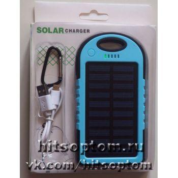 Зарядное устройство Power Bank 5000 mAh на солнечных батареях оптом