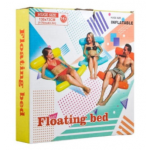 Надувной шезлонг гамак для плавания Floating Bed оптом