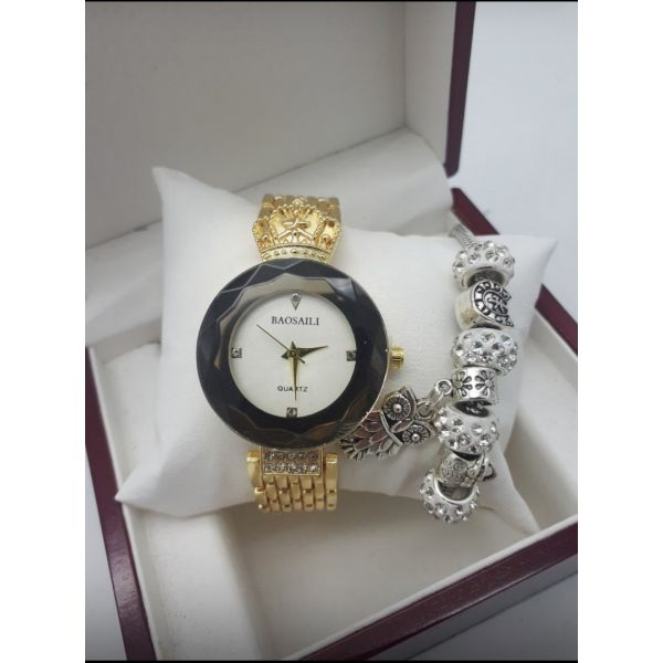 комплект часы Baosaili браслет Pandora и коробка оптом