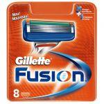 Мужские кассеты Gillette Fusion  (Реплика)  8  шт оптом