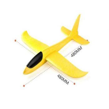 Самолет метательный планер (пенопласт)  48 см оптом