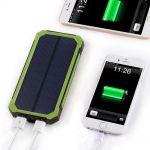 Power Bank 10000 mAh на солнечных батареях  оптом