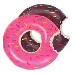 Надувной круг Пончик 60 см оптом