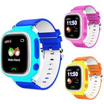 Детские часы Smart Baby Watch Q80 с wifi  оптом