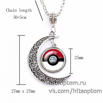 Кулон Pokeball Pokemon оптом