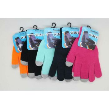 Перчатки для любых сенсорных устройств оптом