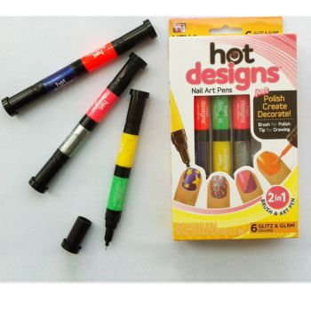 Набор для дизайна ногтей Hot designs оптом