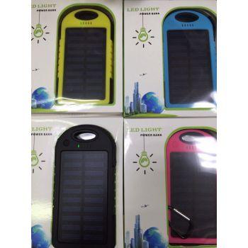 Power Bank 12000 на солнечных батареях mAh оптом