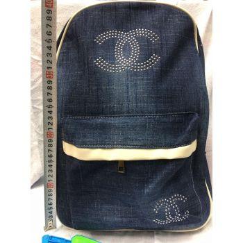 Женская сумка-рюкзак джинс оптом