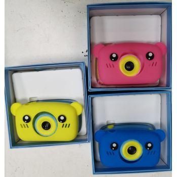 Детский фотоаппарат Zoo Kids camera c силикон чехлом (заяц, мишка) оптом